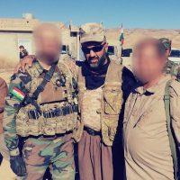 También aparece con otros combatientes Foto:Instagram.com/peshmerganor
