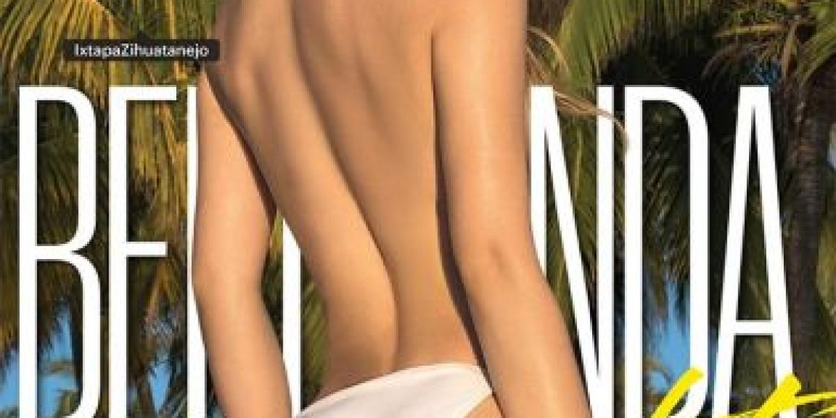 FOTOS. Belinda posa topless y enciende las redes sociales