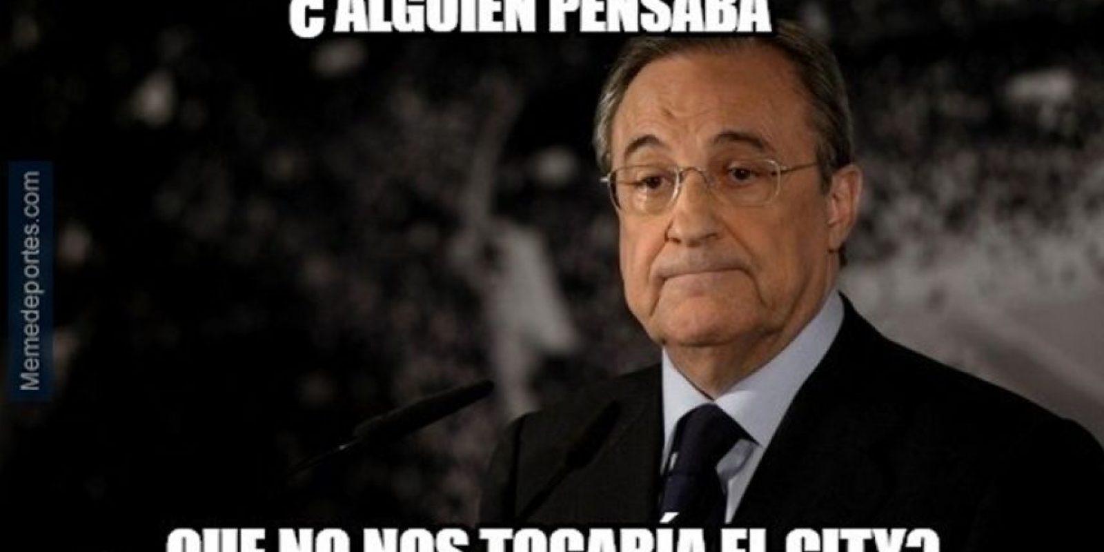 Los chistes contra Florentino Pérez… Foto:memedeportes.com