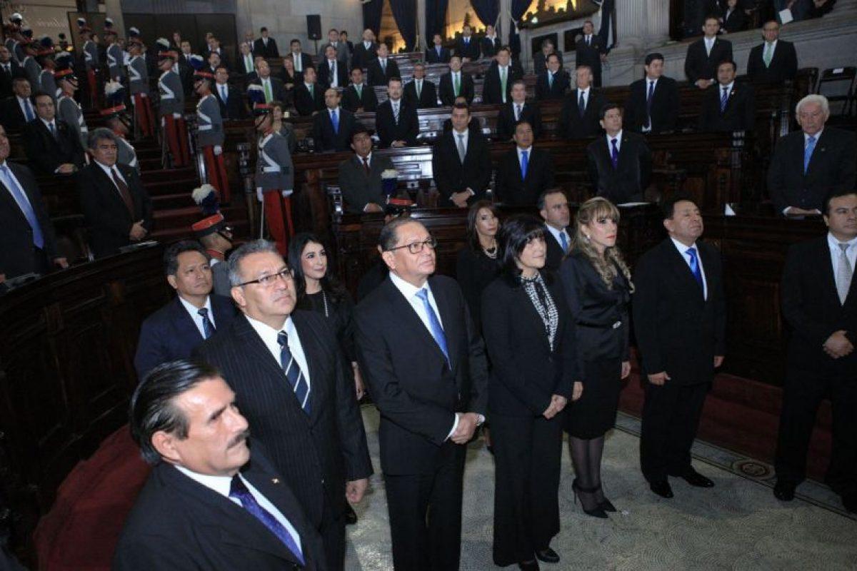 Los nuevos magistrados de la Corte de Constitucionalidad Foto:Presidencia