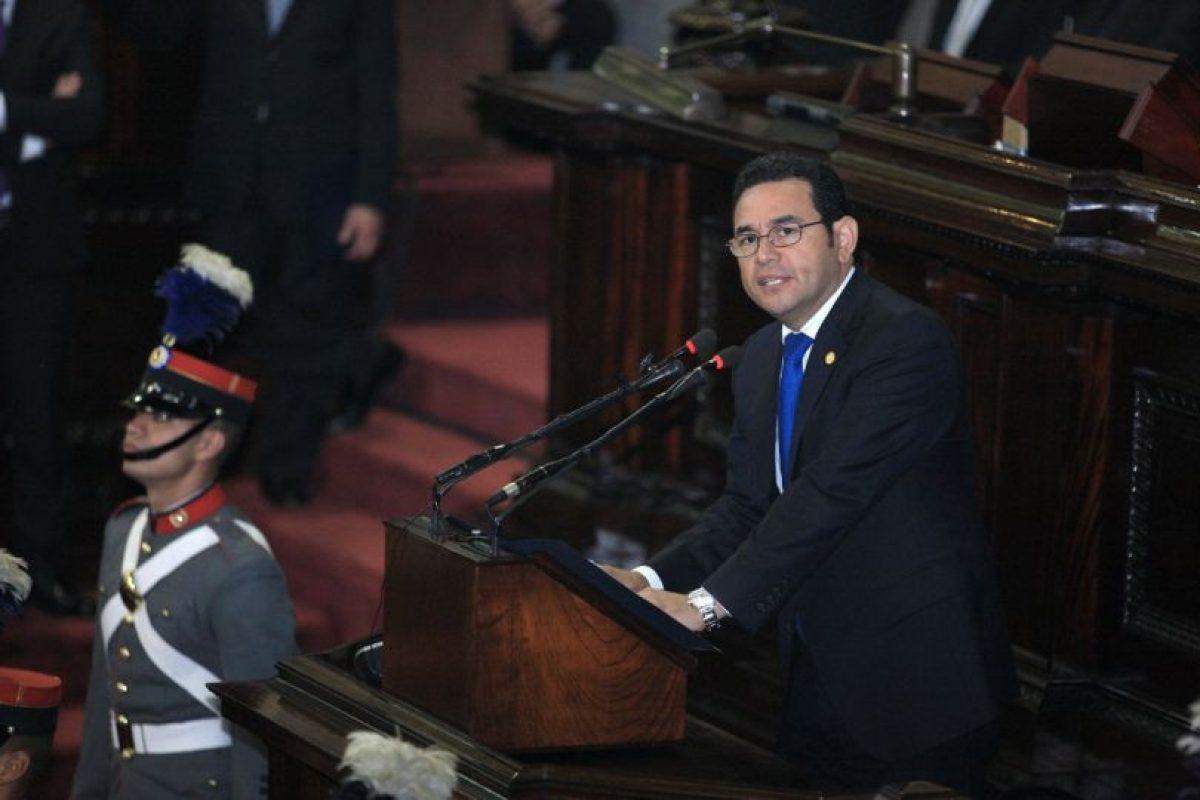 Durante su discurso de juramentación de la nueva CC en el Congreso Foto:Presidencia