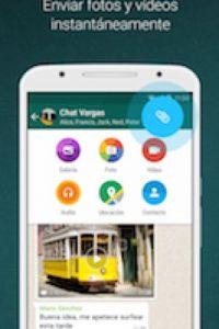 A través de WhatsApp ya podemos también enviar documentos Office. Foto:WhatsApp