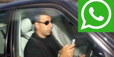 Esta aplicación delatará a quien use WhatsApp mientras conduce