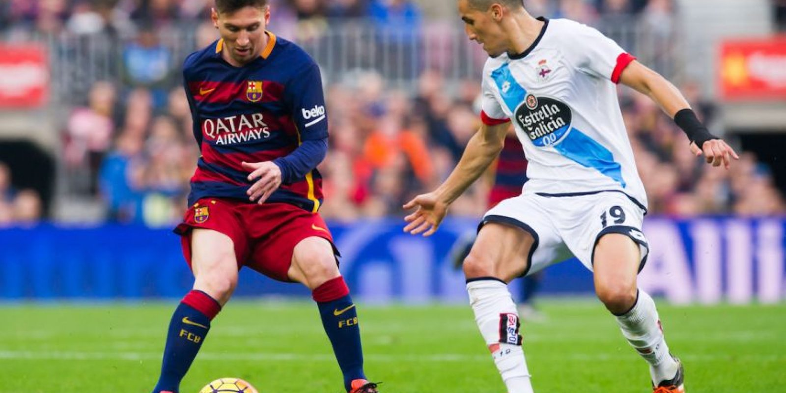 LIGA BBVA: 20 de abril / Deportivo vs. Barcelona Foto: Getty Images