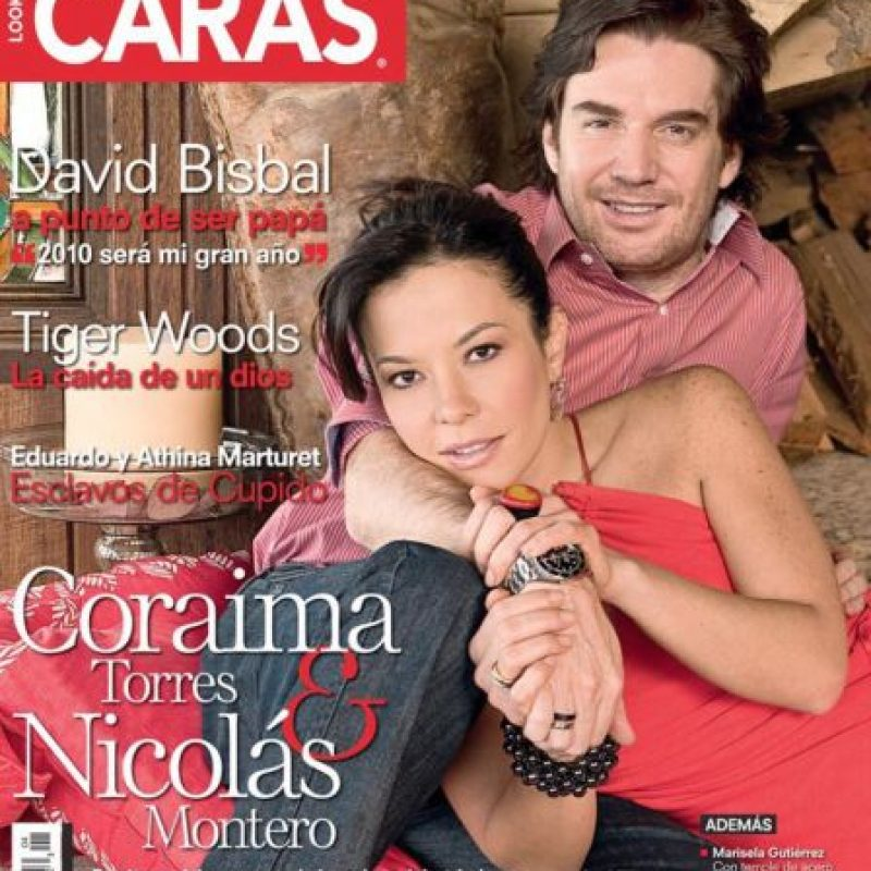 Está casada con el actor Nicolás Montero.