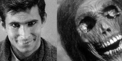 """Norman y Norma Bates, de """"Psicosis"""" y """"Bates Motel"""". Norman tenía una fijación tan fuerte en su madre que terminó por matarla a ella y a su amante. Dejó momificar su cadáver. Foto:vía Shamley Productions"""