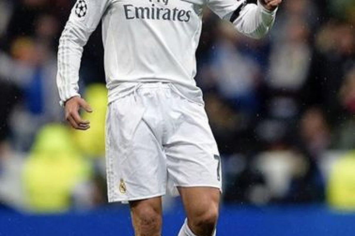 """Sin embargo, """"CR7"""" apareció justo cuando su equipo lo necesitó. Foto:Vía instagram.com/Cristiano"""