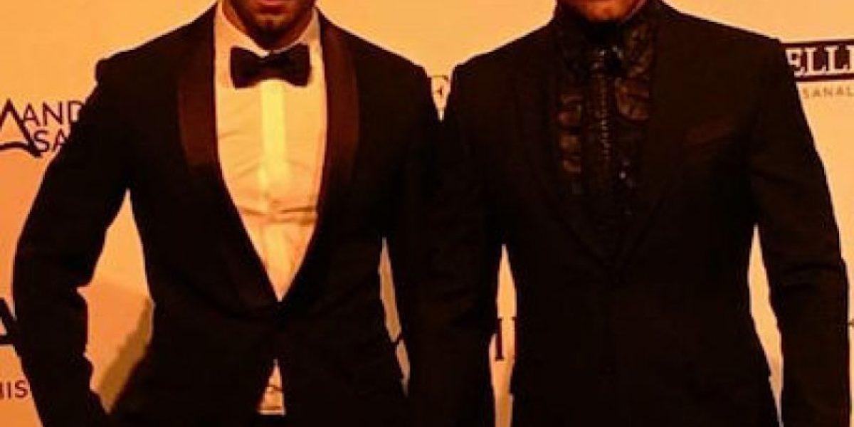 Ricky Martin aparece de la mano de su novio en un evento
