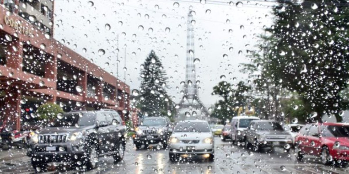 Diversos puntos del país están en condiciones favorables para lluvias