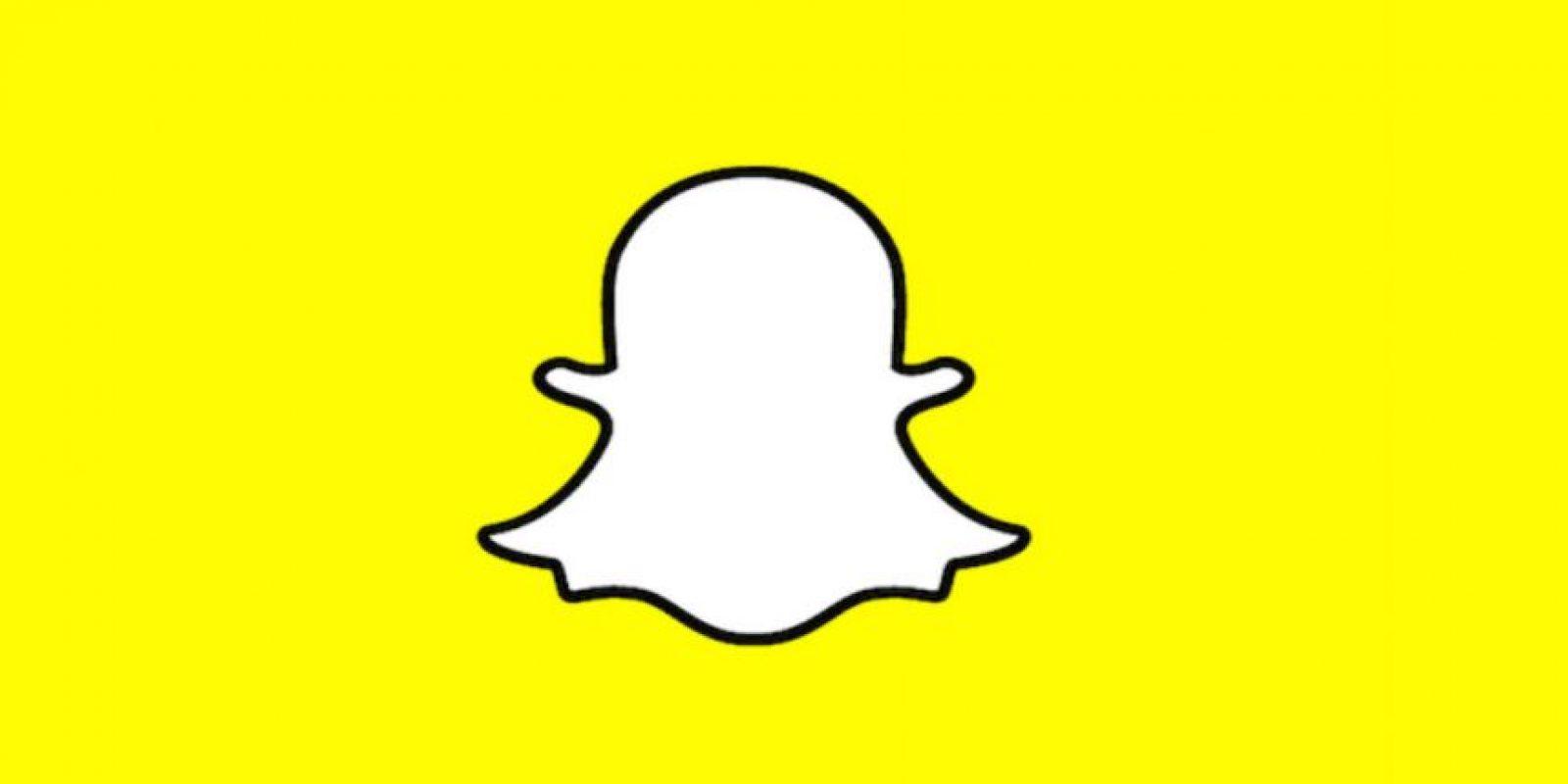 """Snapchat es una aplicación para enviar """"mensajes fantasmas"""". Foto:Snapchat"""