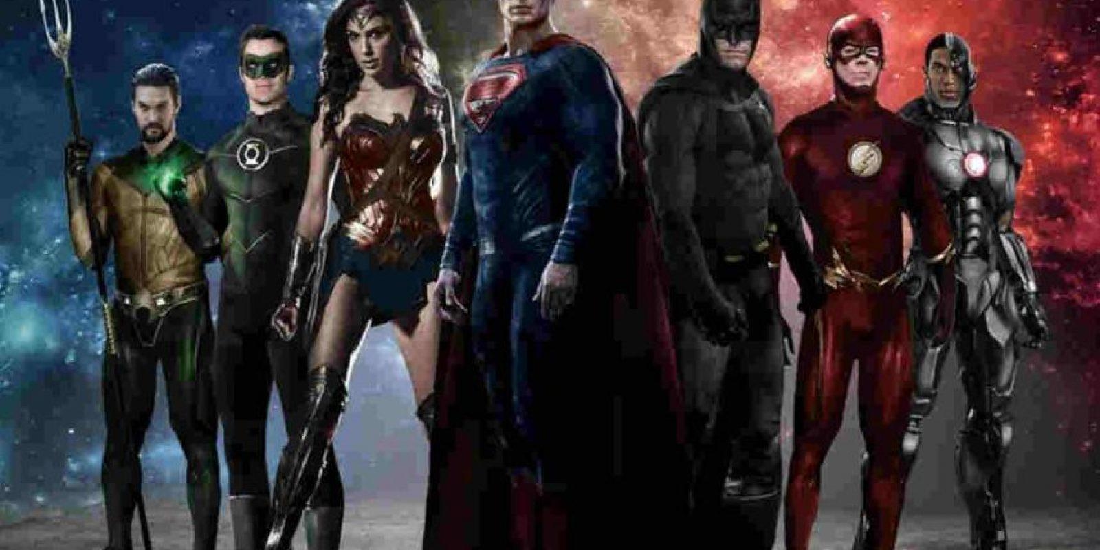 """""""Justice League Part One"""". Noviembre 17, 2017. Foto:DC"""