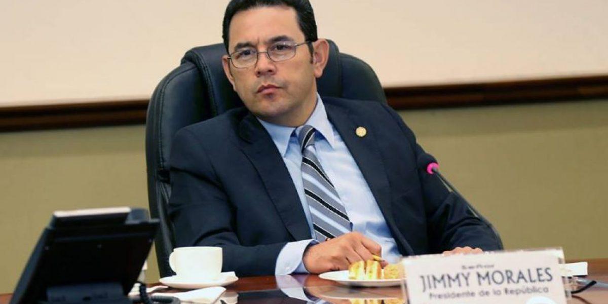 Jimmy Morales envía este mensaje de solidaridad a Ecuador