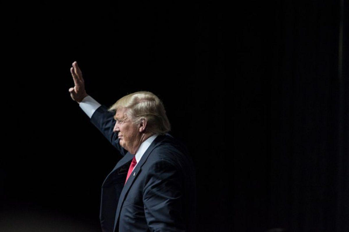 """6 momentos más """"extraños"""" en 10 meses de campaña presidencial de Donald Trump Foto:Getty Images"""