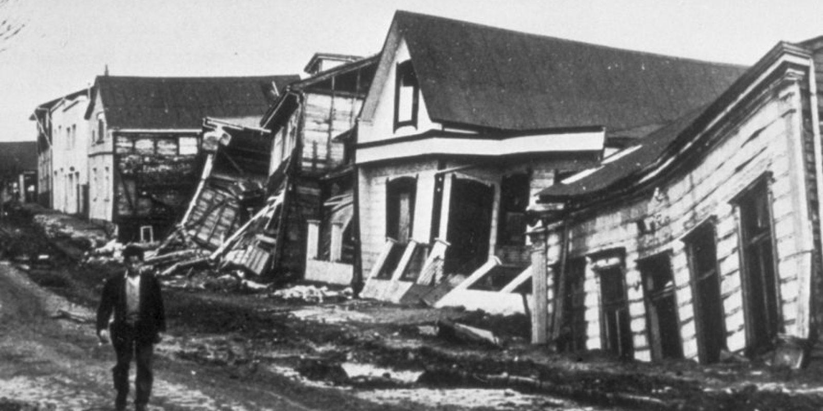 1. 22 de mayo de 1960, Valdivia, Chile: Causó la muerte de cuatro mil 485 personas aproximadamente y más de dos millones perdieron su hogar. Foto:Wikipedia