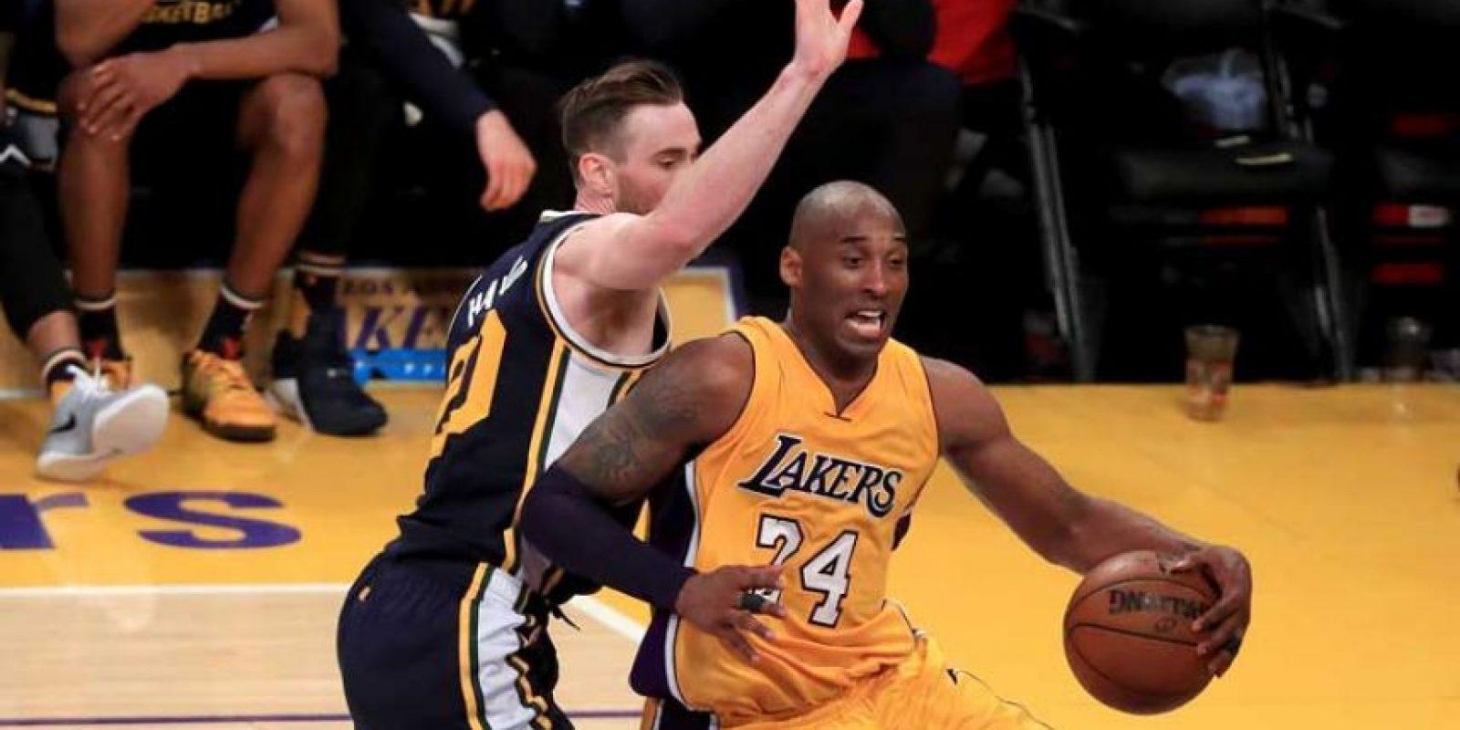 """Black Mamba"" dijo adiós a la NBA tras 20 años de carrera. Foto:Getty Images"