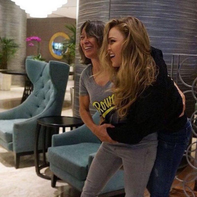Cuando fue noqueada por Holly Holm Foto:Instagram.com/RondaRousey