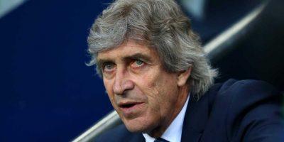 Esta es la última temporada de Manuel Pellegrini como DT del Manchester City. Foto:Getty Images