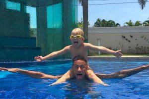 """El niño nació en agosto de 2011, cuando """"Ney"""" tenía 19 años. Foto:Vía instagram.com/neymarjr"""