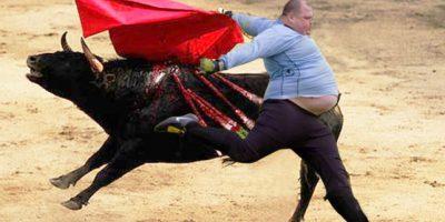 """""""Si hay que ser torero, poner el alma en el ruedo…"""" Foto:reddit.com"""