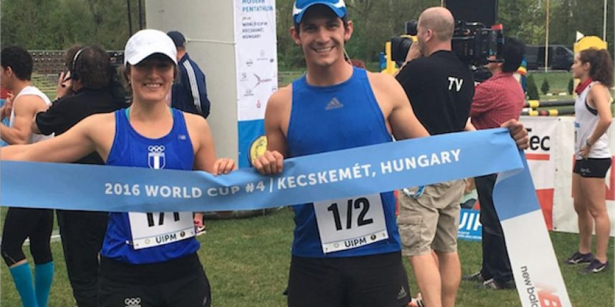 Charles Fernández e Isabel Brand ganan el oro en la IV Copa del Mundo de la UIPM en Hungría