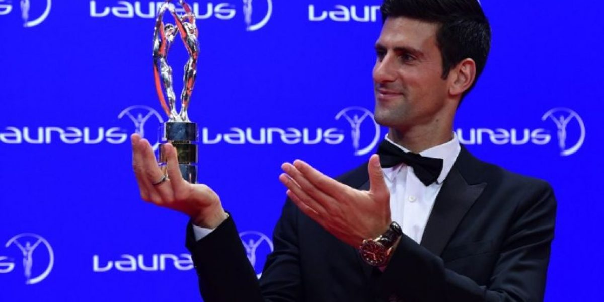 Novak Djokovic y Serena Williams, ganadores del premio Laureus 2016