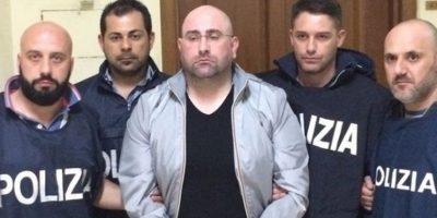 Policía usa pizza para detener uno de los más buscados mafiosos