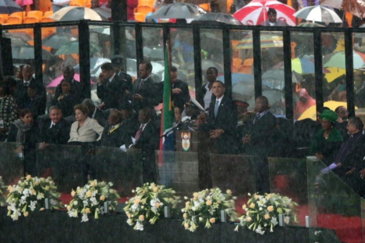 Dilma es la primera presidenta del país Foto:Getty Images