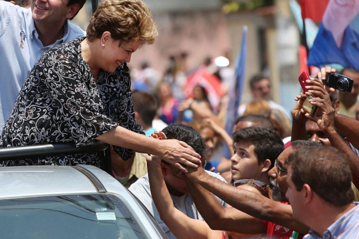 Después de haber ganado las elecciones presidenciales en 2015 Foto:Getty Images