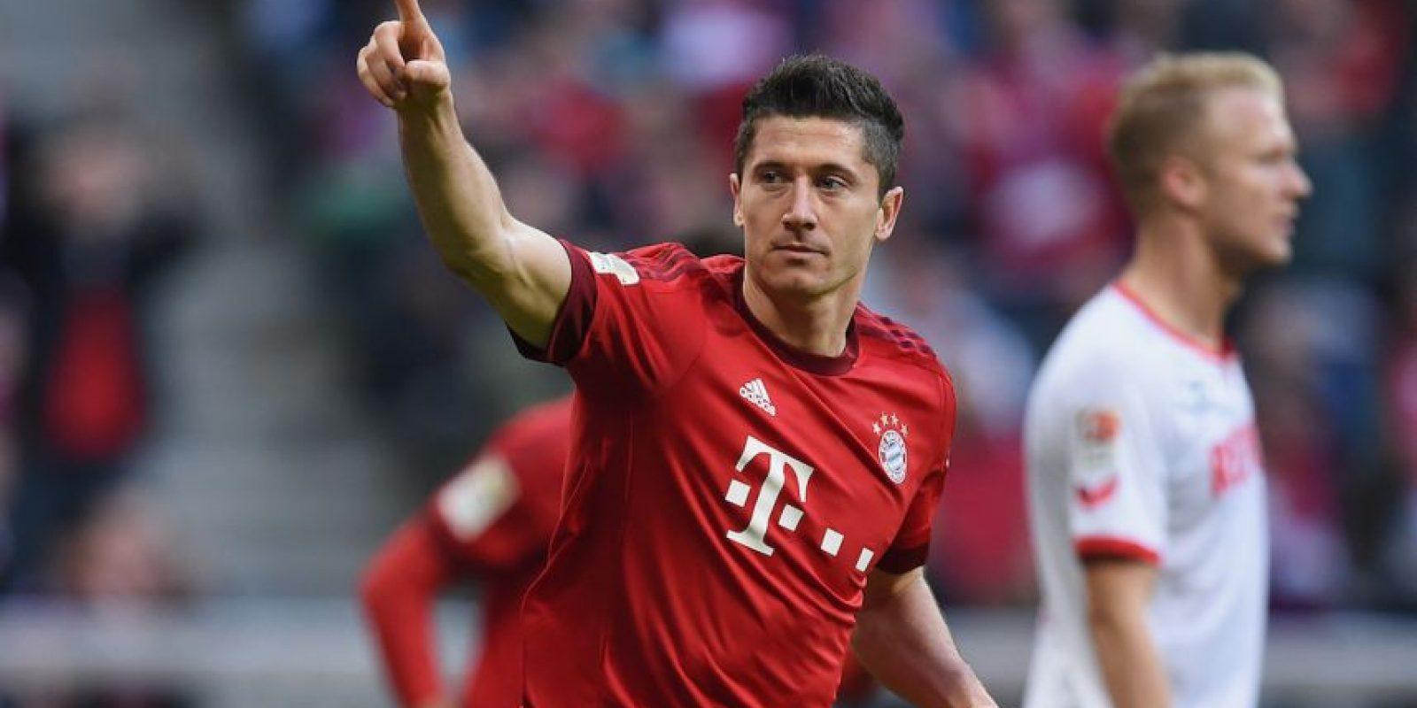 9. Robert Lewandowski / 70 millones de euros. Foto:Getty Images