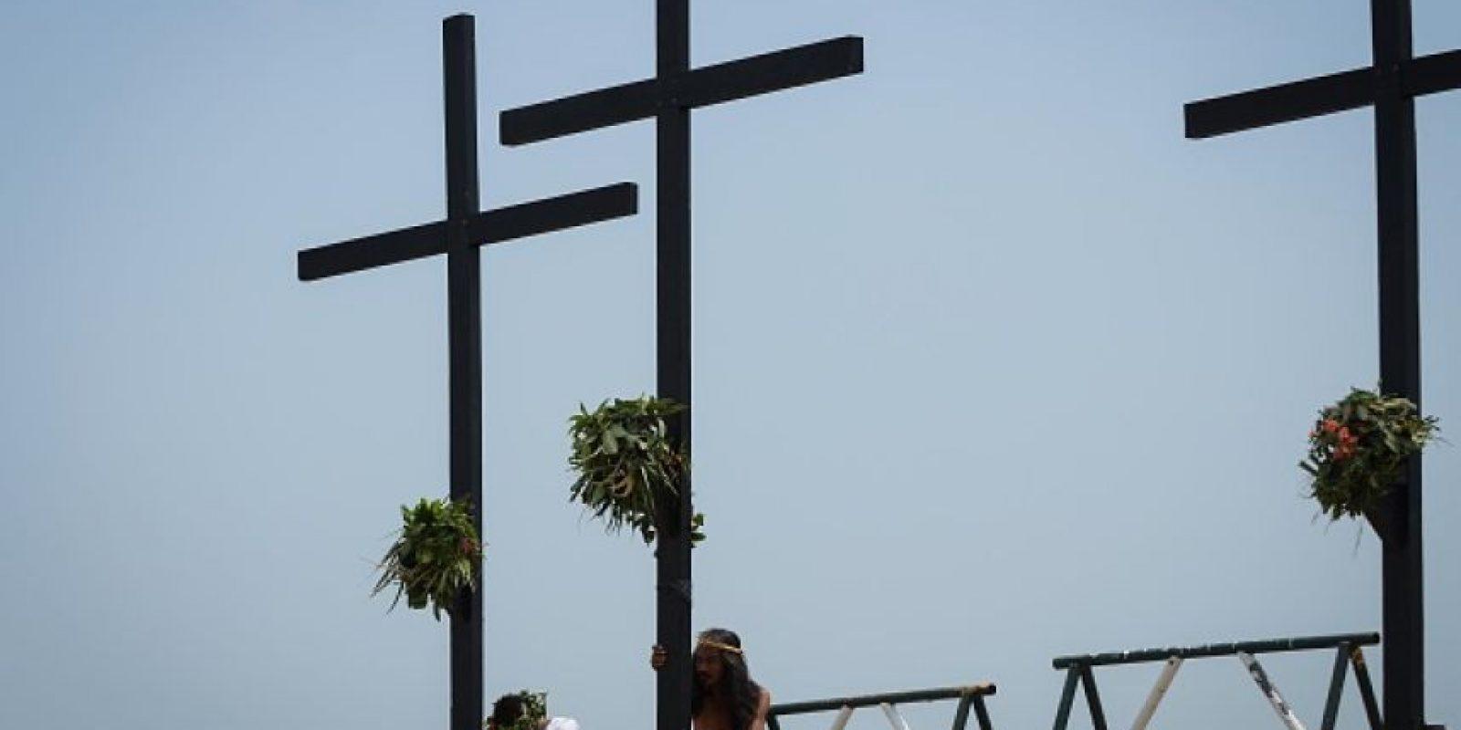 5. Su forma de conmemorar Semana Santa Foto:Getty Images