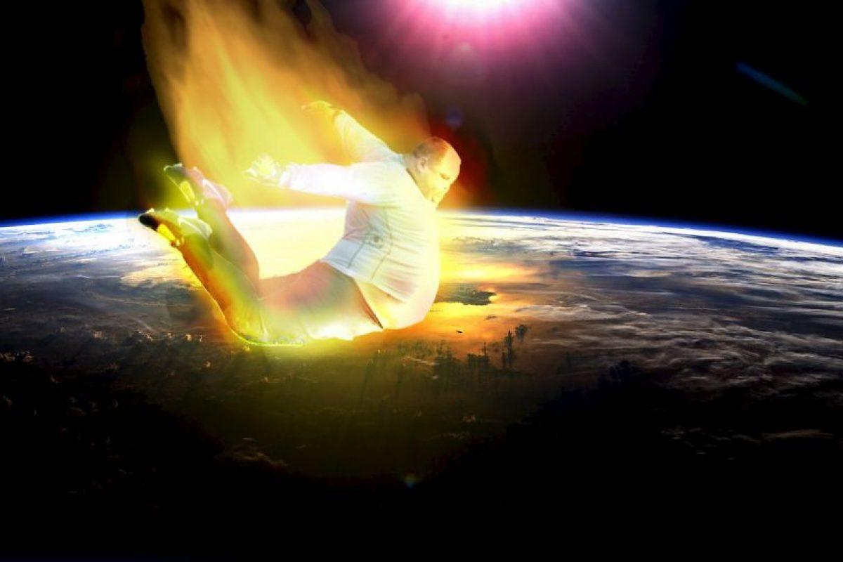 Portero espacial. Foto:reddit.com