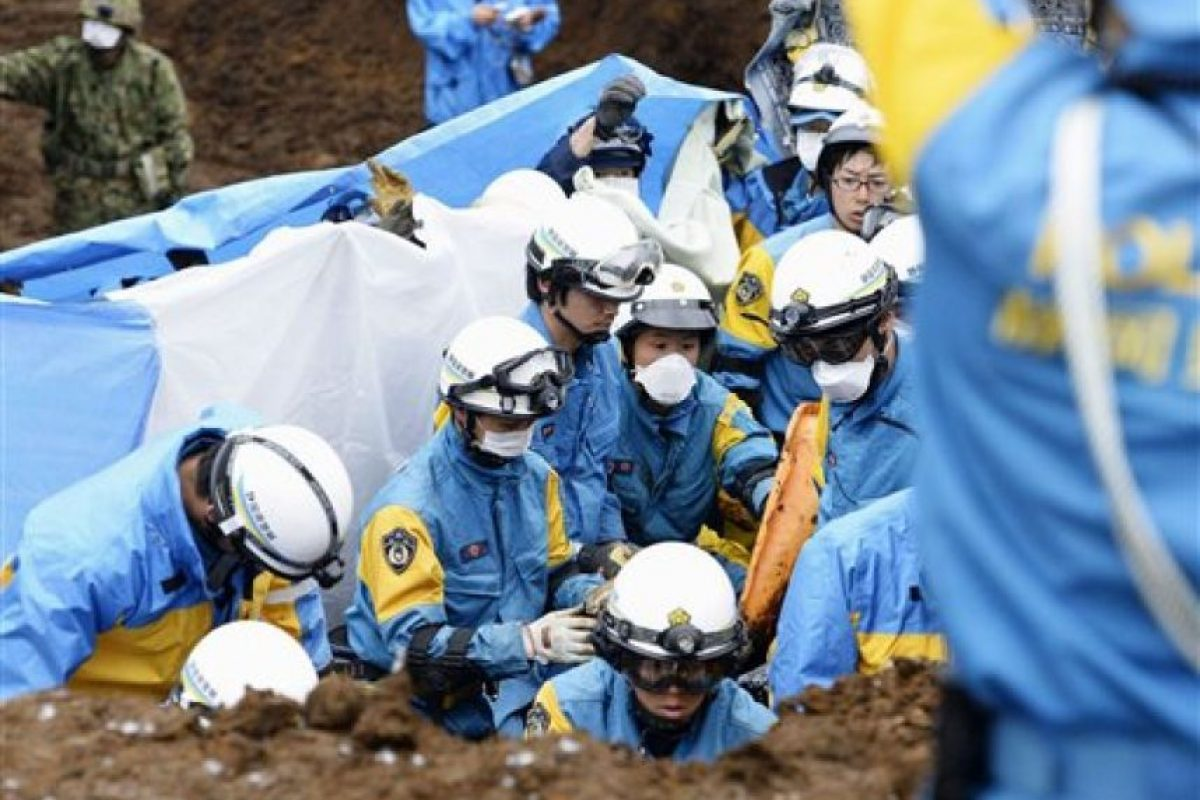 Sismo en Japón Foto:AP