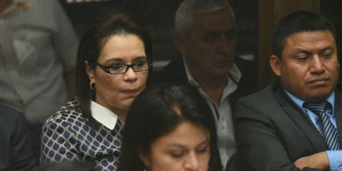 El reencuentro del expresidente Otto Pérez y la ex vicepresidenta Roxana Baldetti se ha retrasado