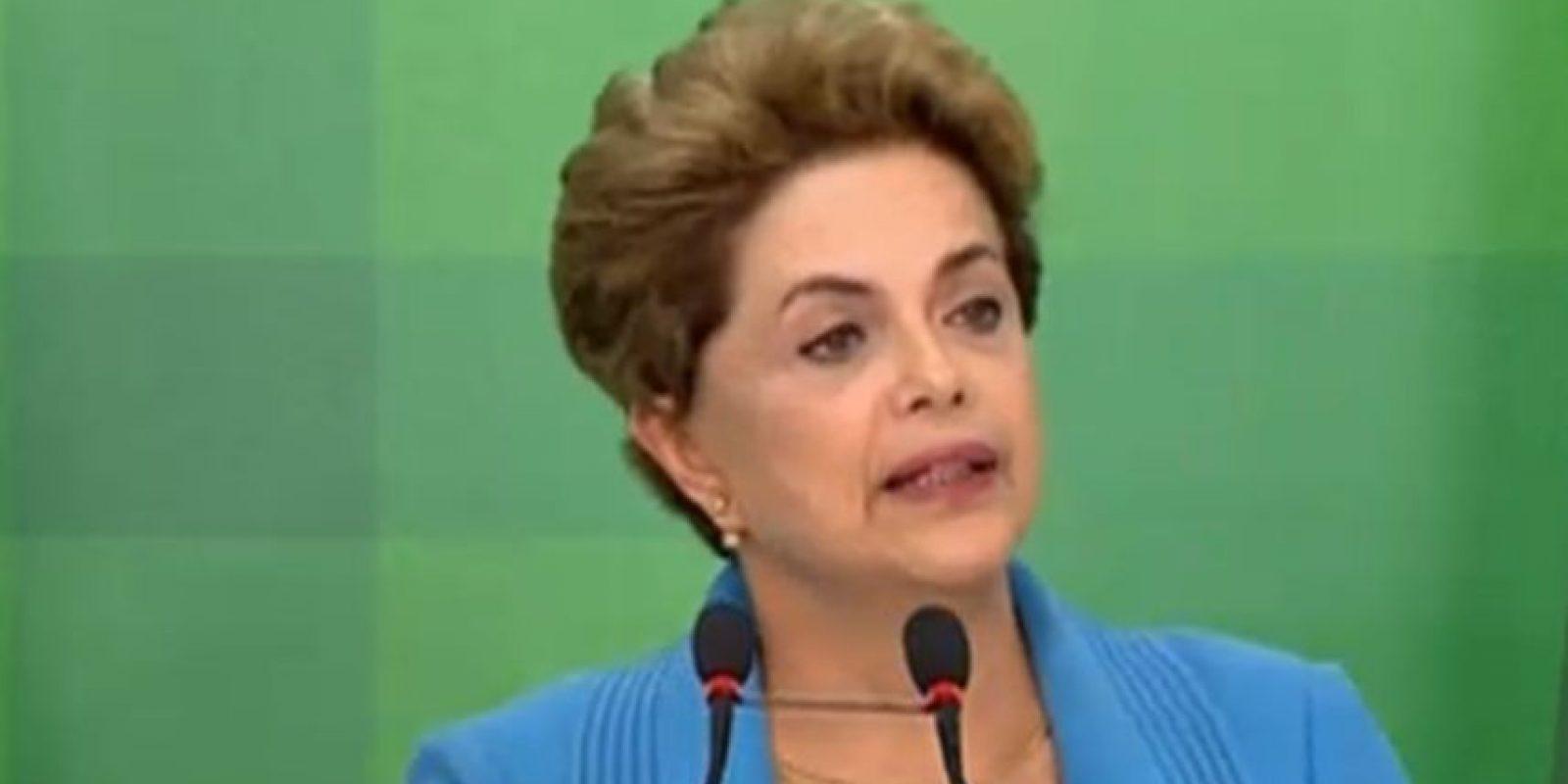 La presidenta lamenta el proceso en su contra. Foto:Tele Sur