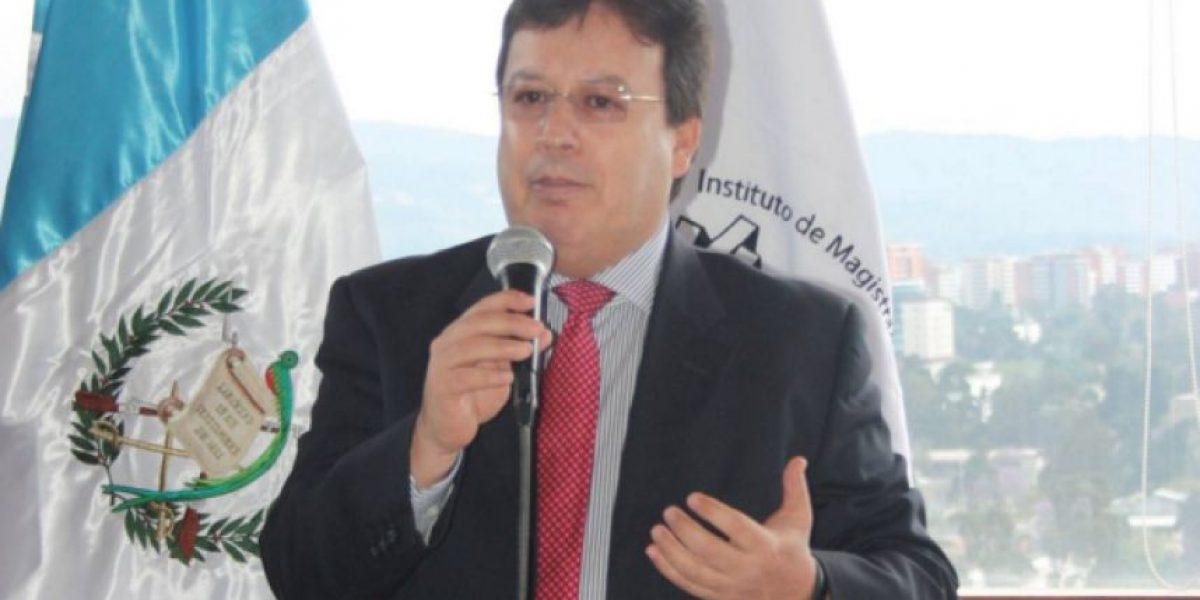 Magistrado Vladimir Aguilar se desliga del caso TCQ