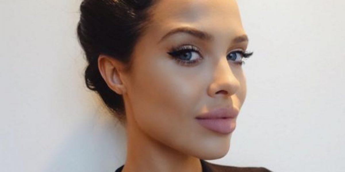 ¡Ella es la gemela de Angelina Jolie!