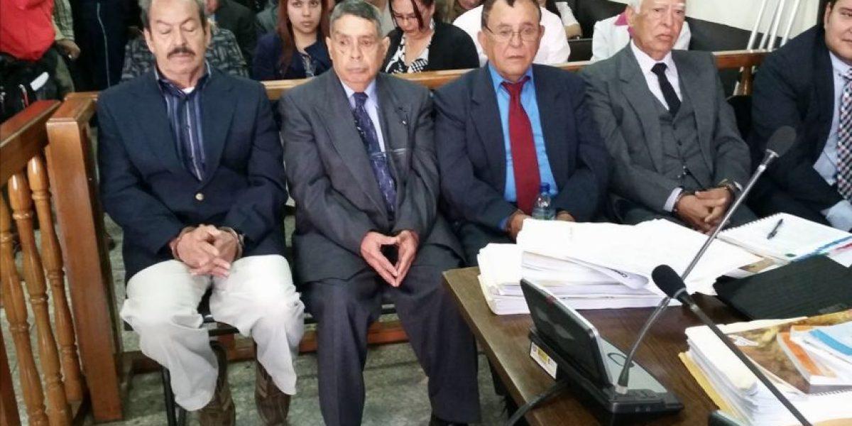 Jueza suspende la audiencia en contra de 4 exmilitares por el caso #MolinaTheissen