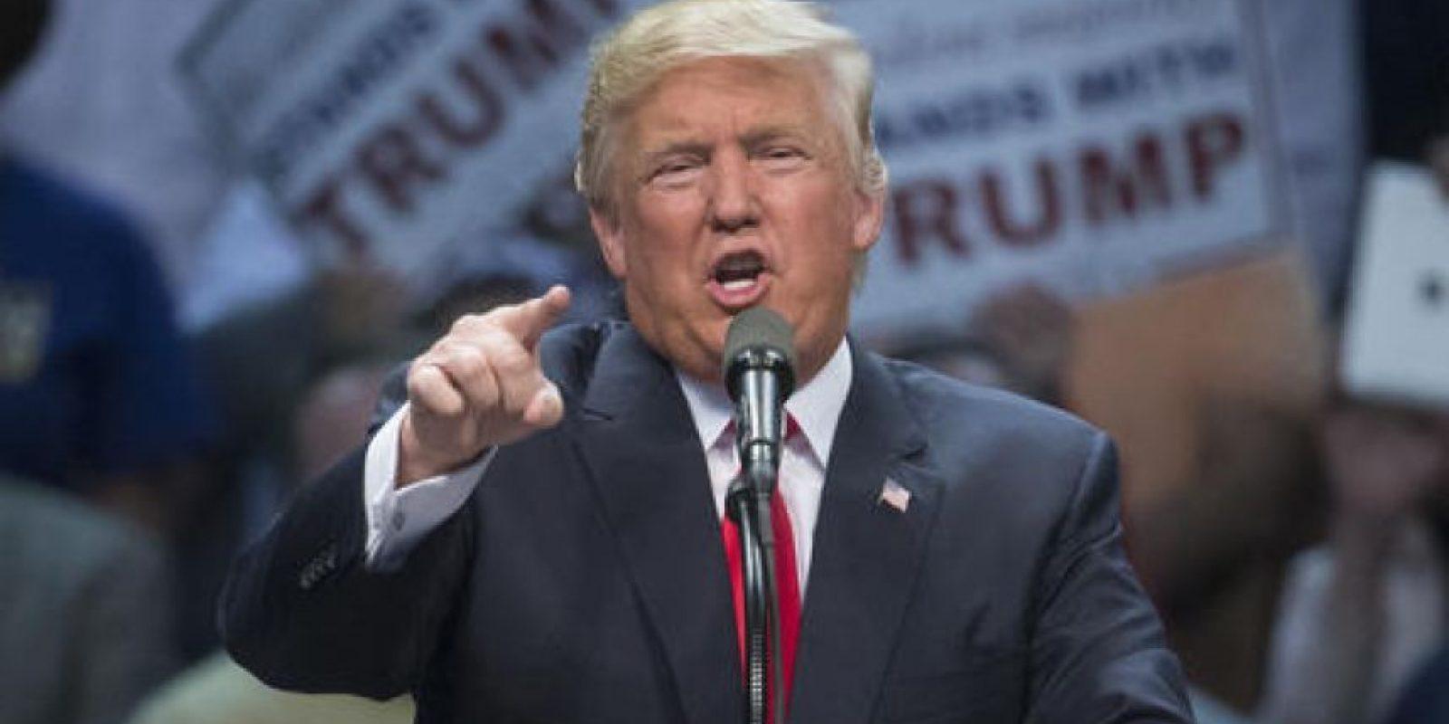 Donald Trump es un ejecutivo, político, empresario y multimillonario de 69 años. Foto:AP