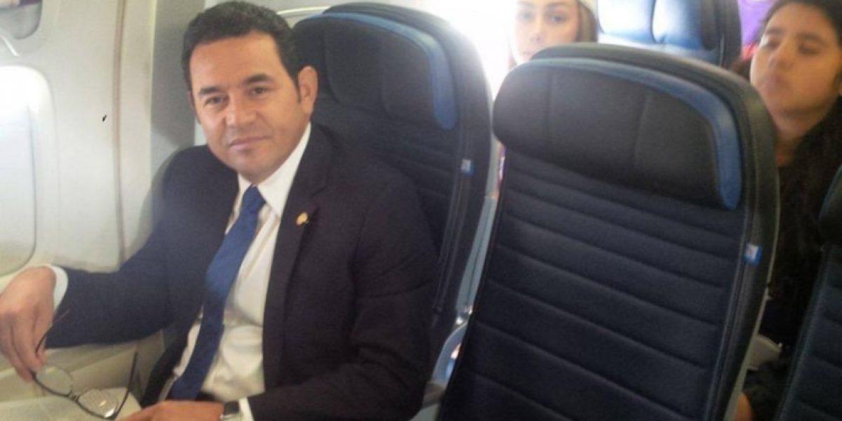 Presidente Morales se traslada de Nueva York a McAllen, Texas