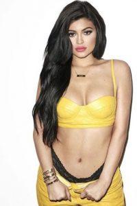 La menor de las Kardashian ha impactado con crop tops. Foto:vía Instagram