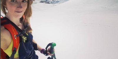 Fue arrollada por una avalancha en los Alpes suizos Foto:Vía instagram.com/estelle_balet