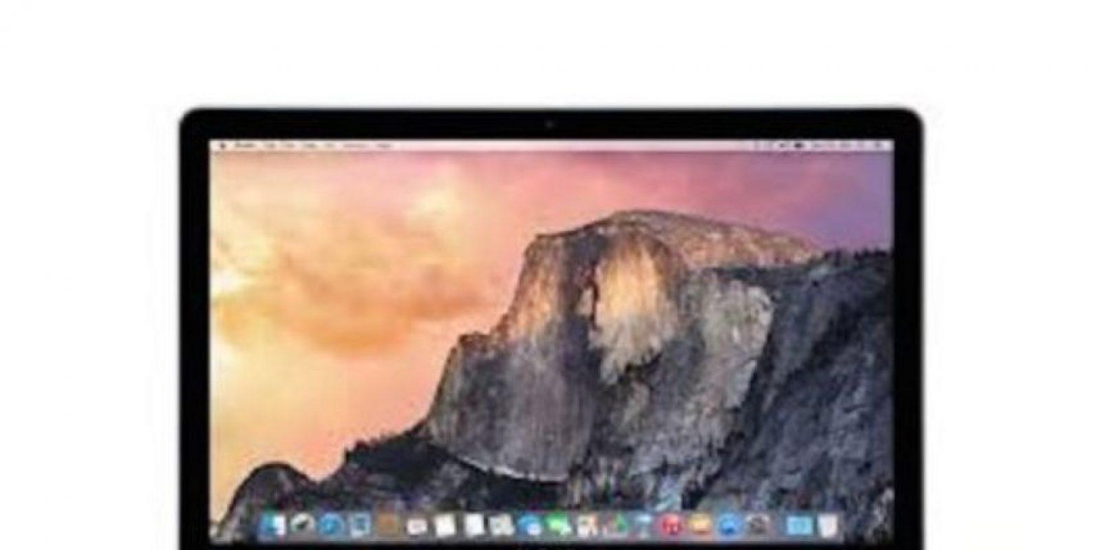 En relación con la batería, la computadora de Apple ofrece de 9 a 10 horas de autonomía. Foto:Apple
