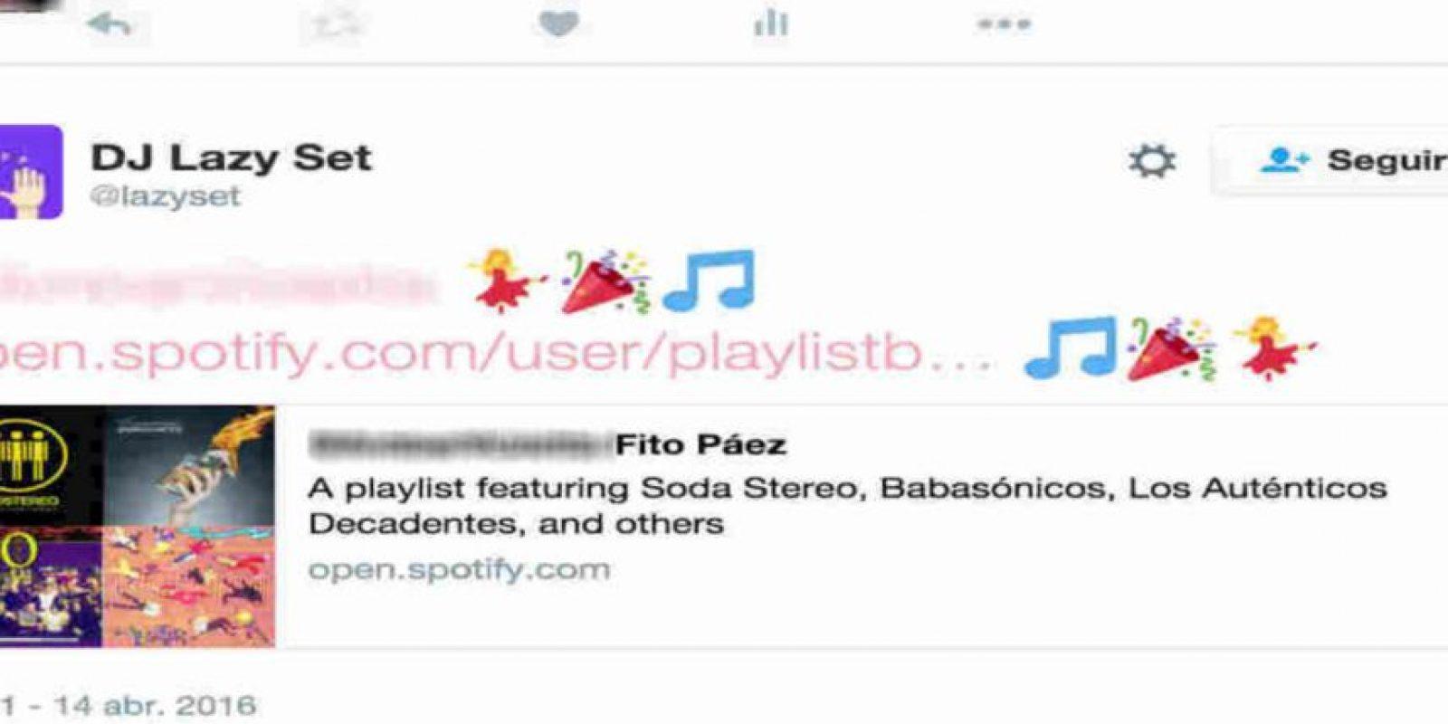 ¿Sabían que existe un bot en Twitter que crea la lista perfecta para ustedes? Foto:Twitter