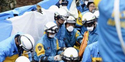Imágenes del sismo en Japón. Foto:AP
