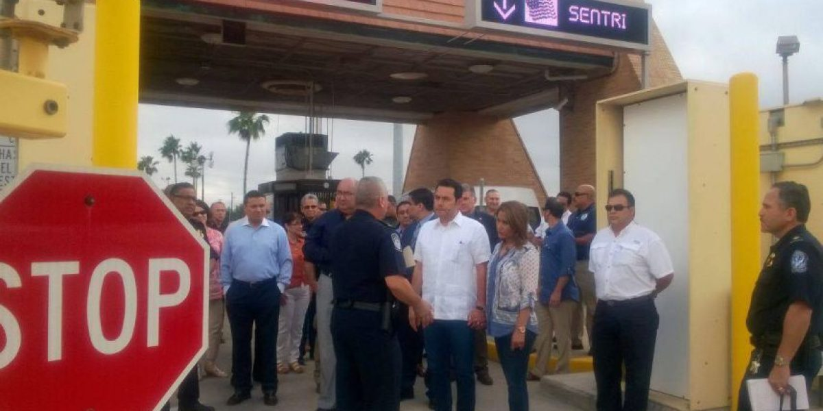 Presidente Morales visita punto fronterizo entre Estados Unidos y México