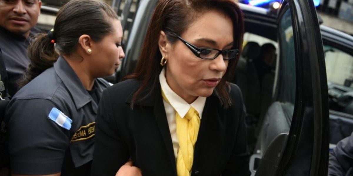 Caso TCQ: Baldetti fue la primera en llegar a Tribunales, enfrenta su tercer proceso