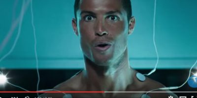 Cristiano Ronaldo es un cyborg en comercial de empresa turca