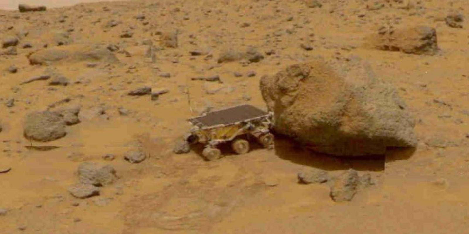 Ningún ser humano ha pisado Marte. Foto:Getty Images