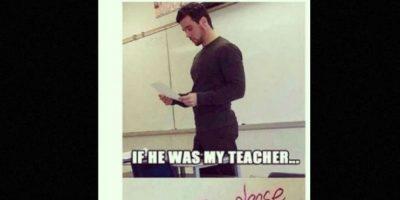 ¿A quién le gustaría tomar clases con este maestro? Foto:Vía Instagram