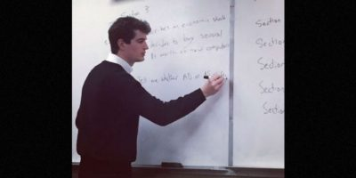 Pero él no es el único profesor admirado por sus alumnos, miren las fotos siguientes. Foto:Vía Instagram